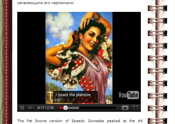 AS2 вид WP YouTube Player
