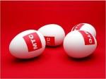 Яйца...