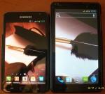 Обзор 6-дюймового китайского телефона Dapeng i9977, он же i9877, и сравнение его с Samsung Galaxy Note
