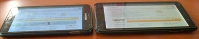 Кнопки включения телефона - у SGN одна и большая, у i9977 - маленькая, и рядом с громкостью