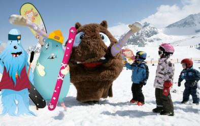 Детская горнолыжная школа: символика