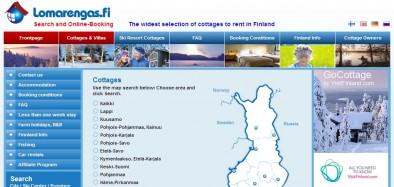 Самый популярный сайт бронирования коттеджей в Финляндии