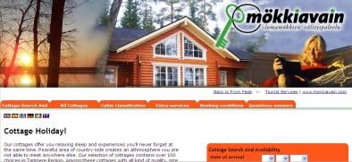 mokkiavain.com - отличный сайт бронирования коттеджей в Финляндии
