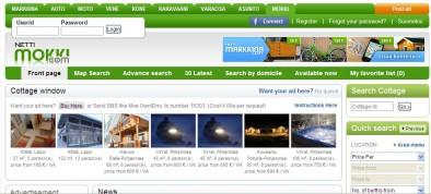 nettimokki.com - отличный сайт поиска и выбора коттеджей