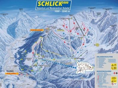 Схема спусков Шлик 2000