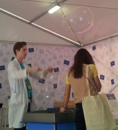 Мыльные пузыри РИФа