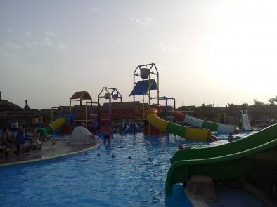 Детская часть аквапарка Джунгли