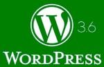 Вышел WordPress 3.6 - изменения, что нового, и стоит ли обновляться