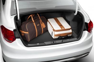 Ситроен С4 Седан багажник