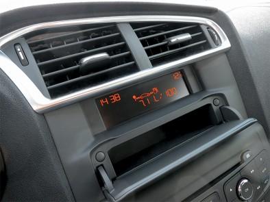 Citroen c4 sedan Оранжевая панель бортового компьютера