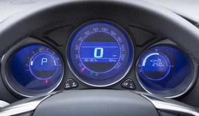 Подсветка панели приборов на Ситроен С4 седан
