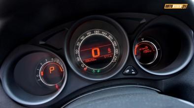 Ситроен С4 седан - оранжевая подсветка панели приборов