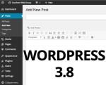 Wordpress 3.8 - что нового, или как вернуть старый вид админки