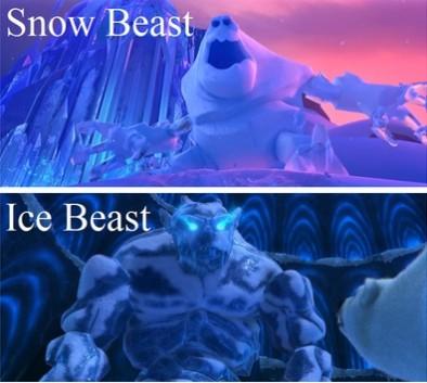 Снежок-переросток и Ледяное Чудовище
