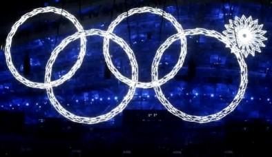 Не раскрывшееся кольцо на зимних олимпийских играх