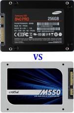 Неафишированное сравнение SSD дисков Samsung 840 Pro на 512 Гб и на 256 Гб в Ф-Центре