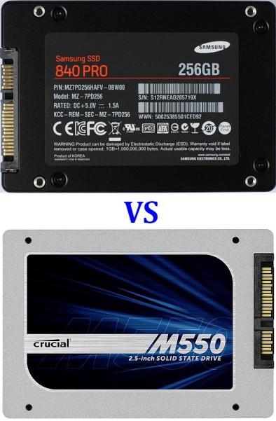 Samsung VS Crucial