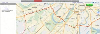 Трек в Live GPS Tracker