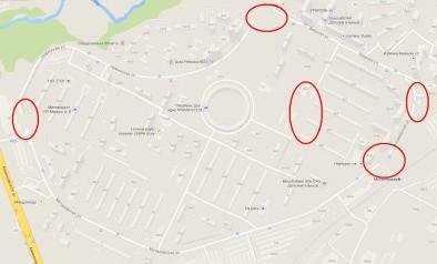 Пропавшие улицы на Матвеевской