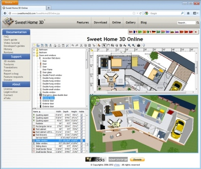 SweetHome3D Online Windows