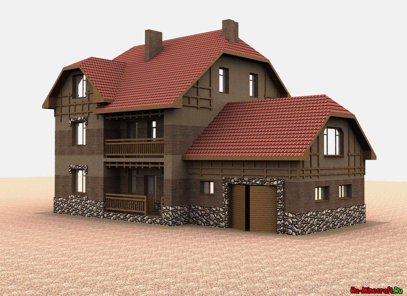 Рисовать дом в програмке