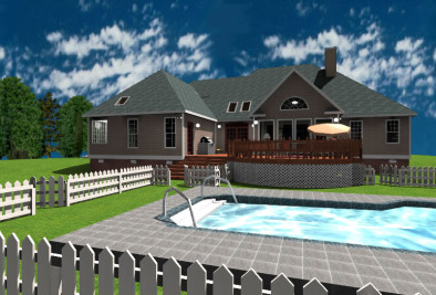 Внешний вид дома в Envisioneer Express