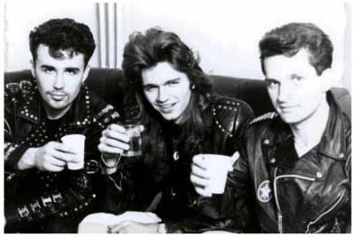 Слева-направо: Титомир, Маликов и Лемох
