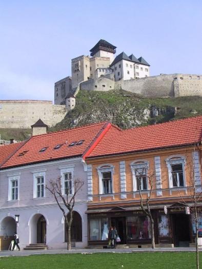 Тренчин - город и замок