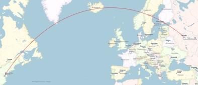 Путь через Финляндию и Исландию