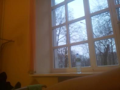 Огромное окно - очень светлая палата