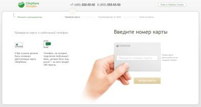 Получение логина и пароля через интернет и телефон