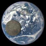 Как выглядела бы луна, если бы она находилась на том же расстоянии, что и МКС: видео