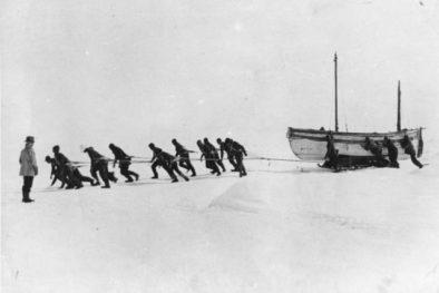 Бурлаки в антарктике