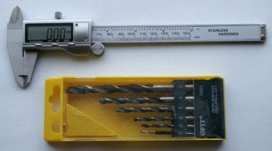 Эти сверла будем измерять