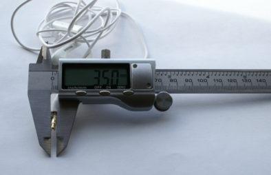 Замеряем 3.5 мм джек