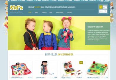 Тема kidshop для WooCommerce
