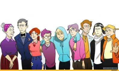 Загадка - кто все эти люди?