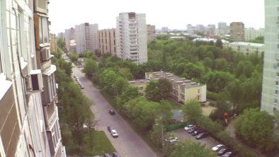 Фотография с квадрокоптера Hubsan
