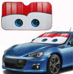 Солнцезащитная шторка на лобовое стекло авто: превращаем машину в Молнию Маквина