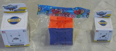 Кубики в своих коробках