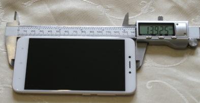 Длина смартфона