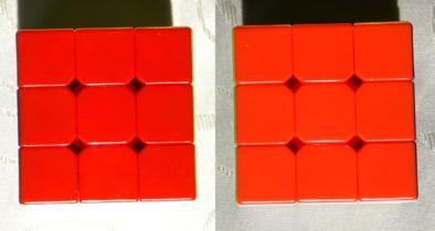 Сравнение красного и оранжевого на стандартном циклоне