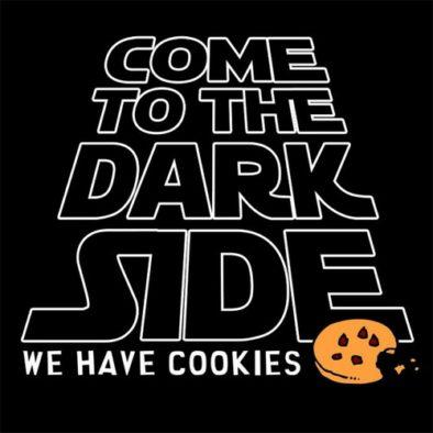 Переходи на темную сторону силы! У нас есть печеньки :)