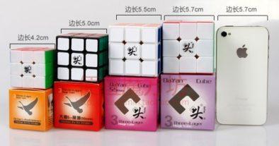 Кубики Dayan различного размера