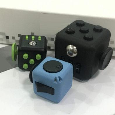 Кубики в сравнении размеров