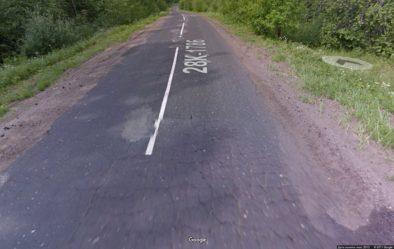 Где-то между Торопцом и Плоскошь (Гугл)