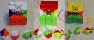 Внутренности всех трех кубиков в сравнении