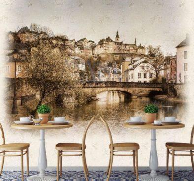 Сдизайнеренная стена с Люксембургом