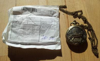 Упаковка Питерских часов
