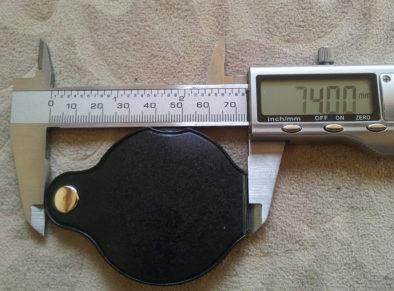 Размеры лупы